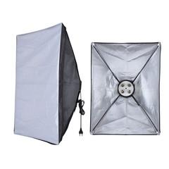 Источник постоянного освещения с софтбоксом 50х70 см NiceFoto G804C-1