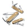 Нож Victorinox Alox Pioneer, 93 мм, 8 функций, золотистый (подар. упаковка)