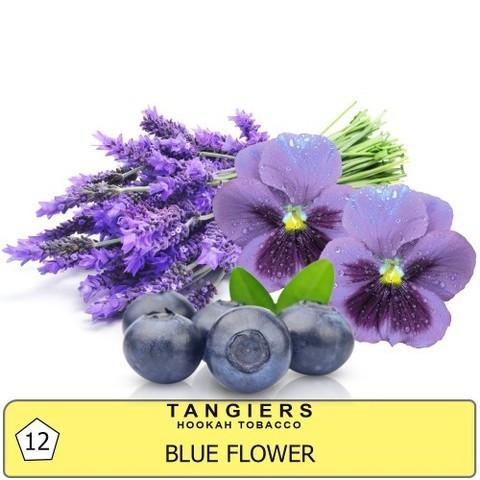 Табак Tangiers Blue Flower T12 (Танжирс Голубые Цветы)  Noir 20г