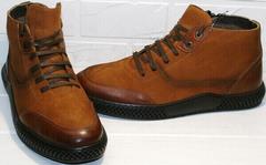качественные зимние кожаные ботинки мужские