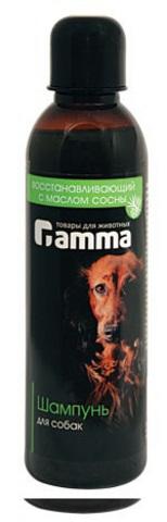 ГАММА 10100 Шампунь д/собак восстанавливающий с маслом сосны 250мл*40