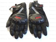 Мотоперчатки кожаные Komine GK-160 чёрный, размер XL