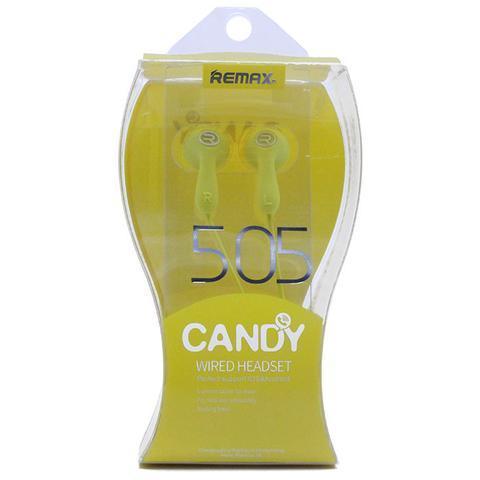 Гарнитура Remax Candy 505 угловой jack yellow
