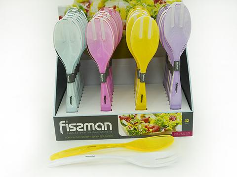 7422 FISSMAN Ложка и вилка для салата 29 см,  купить