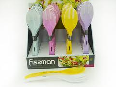7422 FISSMAN Ложка и вилка для салата 29 см
