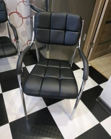 Стул для посетителей Comby (стул кухонный, для клиентов, офисный), кресло, с подлокотниками