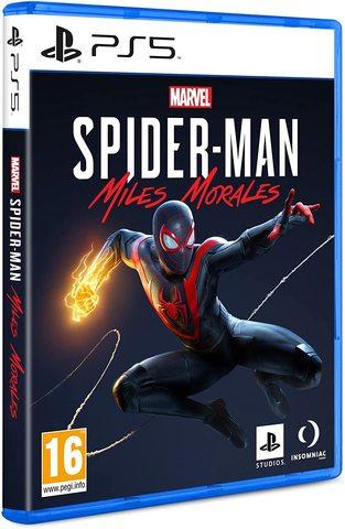 MARVEL Человек-Паук: Майлз Моралес [PS5,русская версия]