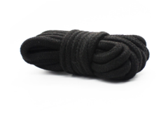 ЧерныйБДСМ набор из 7 предметов (искусственная кожа, мех)