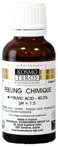 Химический пилинг с пировиноградной кислотой 40% (pH - 1,5) Kosmoteros, 40 г