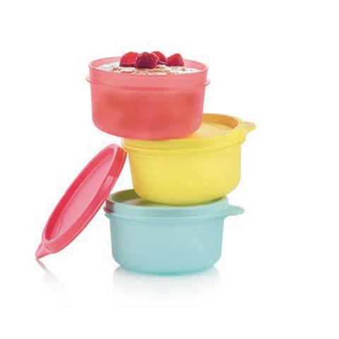 Сервировочная чаша (200мл), 3шт. разноцветные