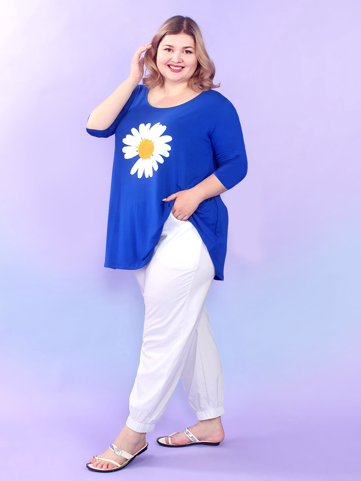 Блуза Ромашка