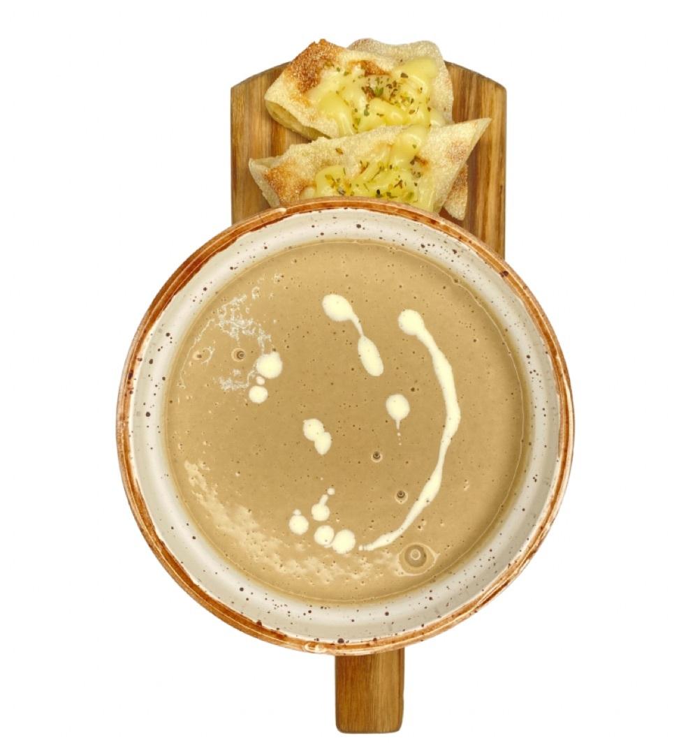 Крем суп из грибов