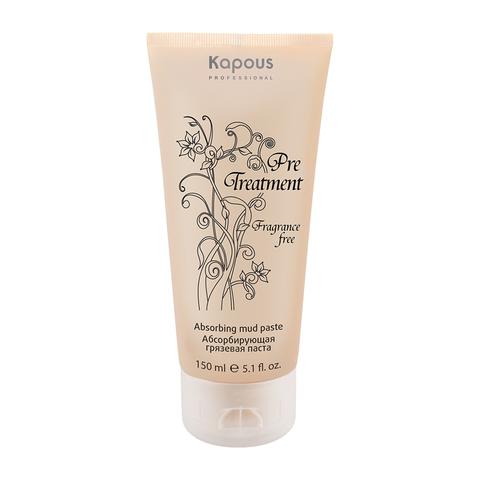 Абсорбирующая грязевая паста для жирной кожи головы Pre Treatment Kapous Professional 150 мл