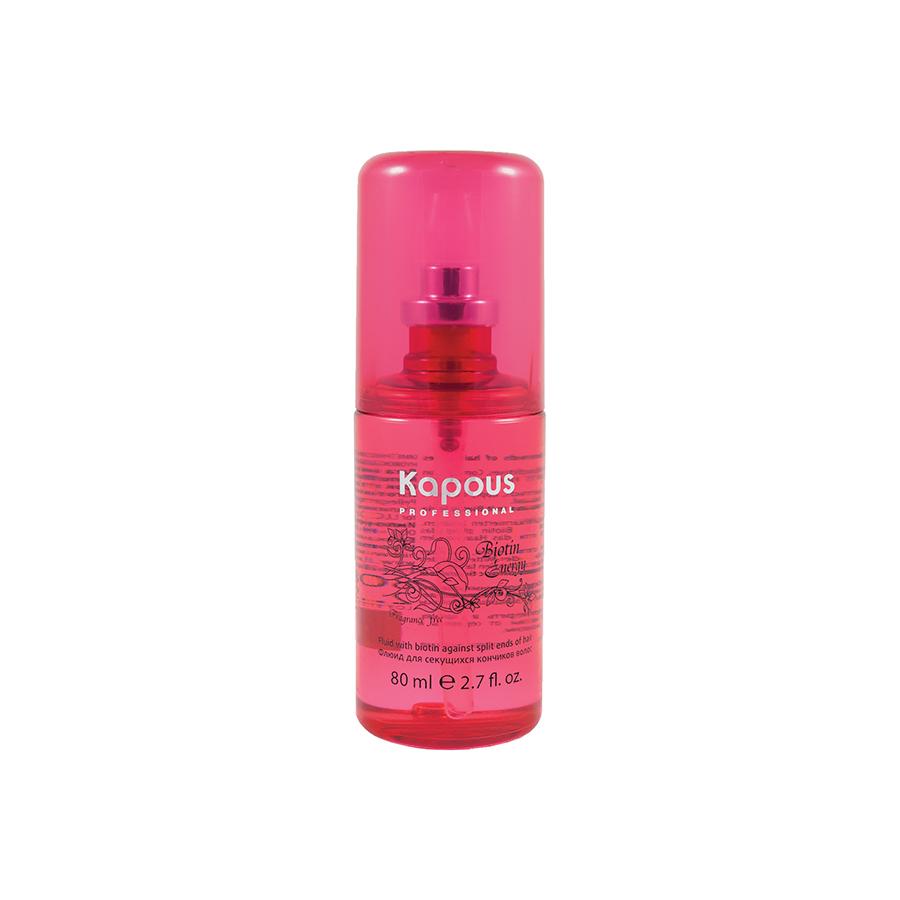 Флюид для секущихся кончиков волос с Биотином Biotin Energy Kapous Professional 80 мл