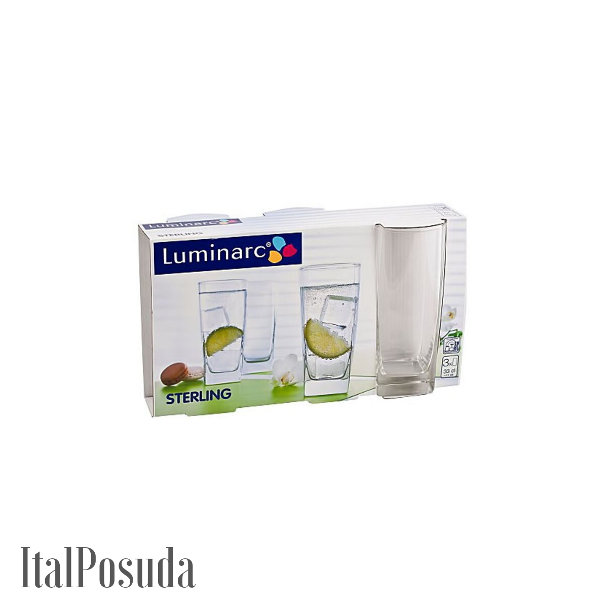 Набор стаканов Luminarc Sterling (Стерлинг), 6 шт H7666