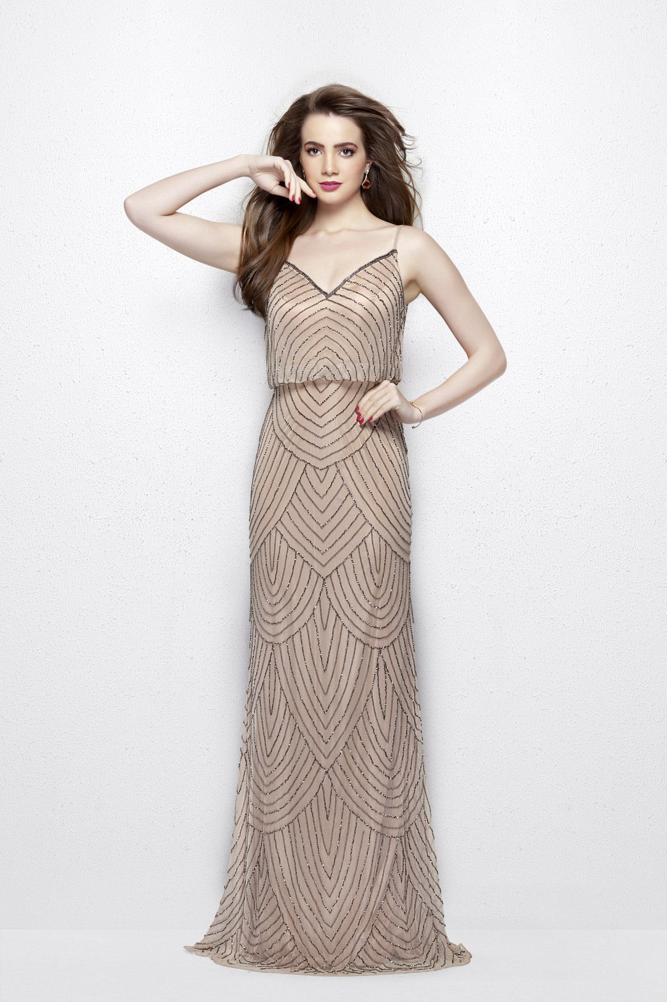 Платье в пол Rosaline 9600