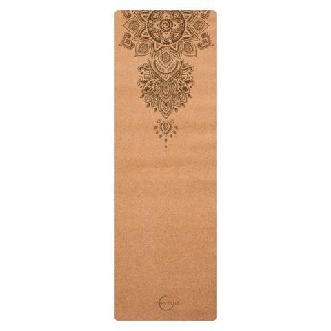 Пробковый коврик для йоги TPE Omnia 183*61*0,45 см