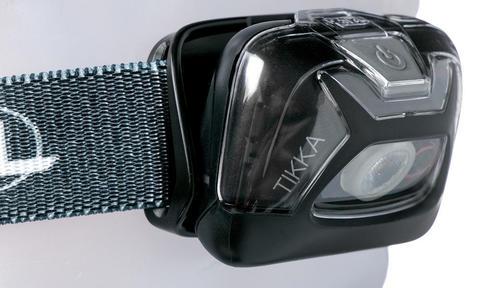 Картинка фонарь налобный Petzl tikka Чёрный - 4