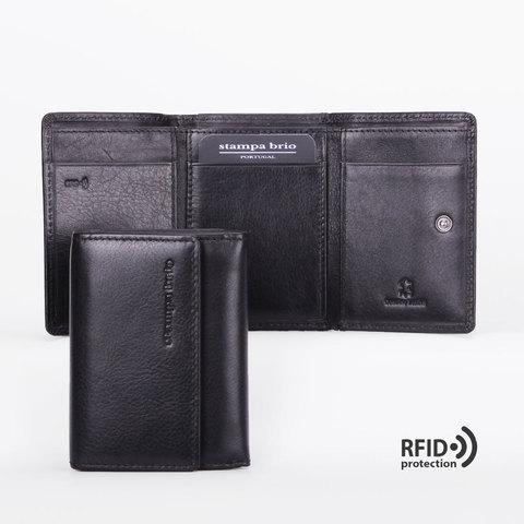 679 R - Портмоне компактное в 3 сложения и RFID защитой
