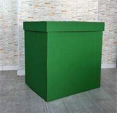 Коробка для шаров (Зеленая) 60*60*60 см.