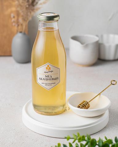 Натуральный акациевый мед HoneyForYou, 700 грамм