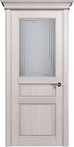 CLASSIC 532 Дуб Белый стекло Грань