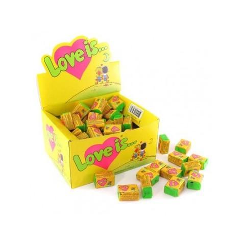 Жевательная резинка Love is… Кокос-ананас 420 г