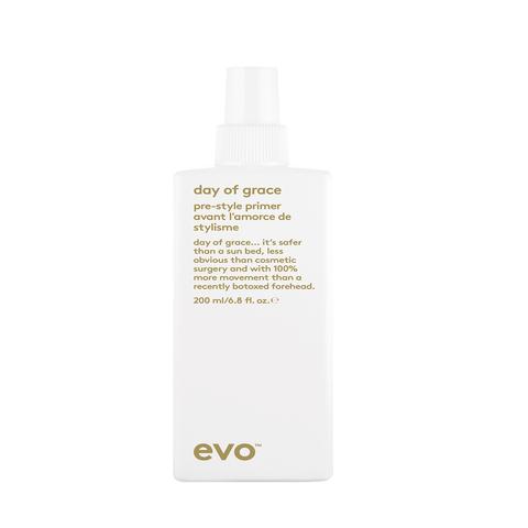 EVO Несмываемый кондиционер с термозащитой [благо]датный день Day Of Grace Pre-Style Primer