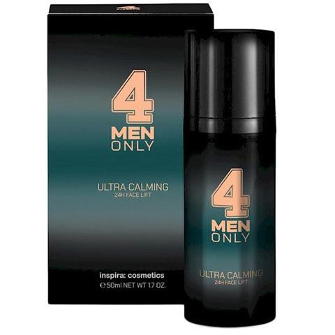 INSPIRA 4 Men Only: Успокаивающий лифтинг-крем для лица 24-часового действия (Ultra Calming 24h Face Lift)