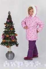 Зимний комбинезон-костюм Pink