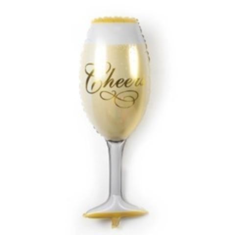 К 9''/22 см Мини-фигура, Бокал шампанского, 5 шт.