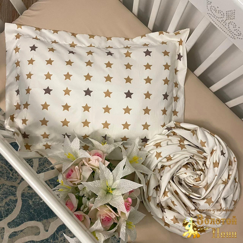 Комплект постельного белья в детскую кроватку (0+) 210414-Ф41152