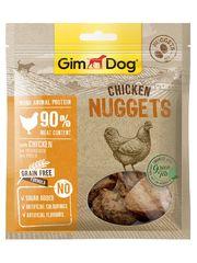 Лакомство для собак GimDog Curls, наггетсы из курицы