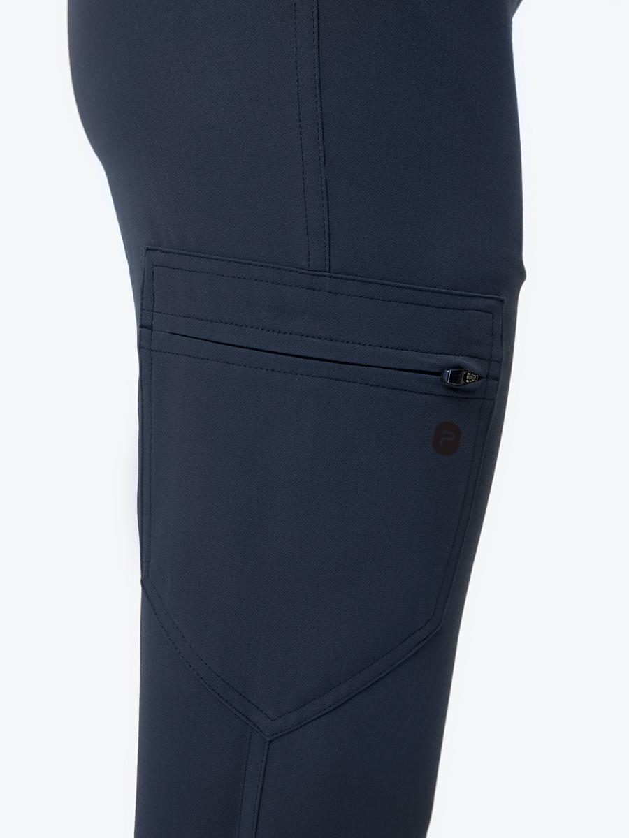 Джоггеры Эллис женские удлиненные синий космос WearPlus (рост 169 см - 177 см)