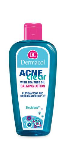 Dermacol Acneclear Успокаивающий лосьон с экстрактом чайного дерева для проблемной кожи, 200мл