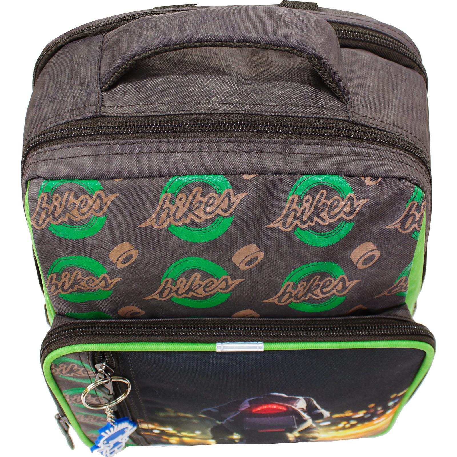 Рюкзак школьный Bagland Школьник 8 л. 327 хаки 270к (00112702)