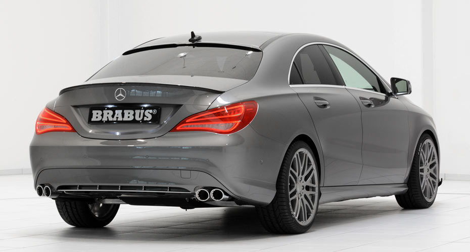 Обвес Brabus для Mercedes CLA C117