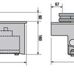001FROG-A24 Привод 24В рычажный подземной установки (серия FROG) Came
