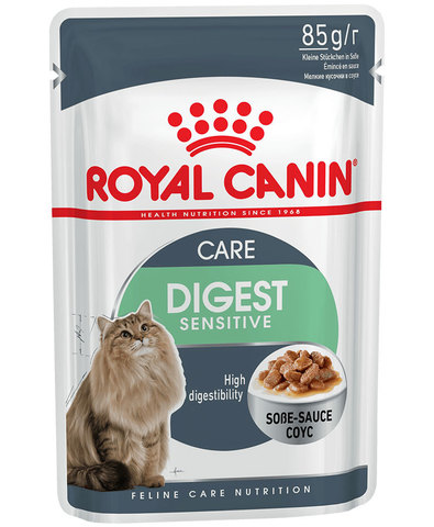 Royal Canin Digest Sensitive пауч для кошек с чувствительным пищеварением 85г