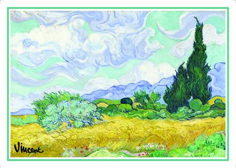 Açıqca\Открытки\Giftcard Van Gogh 4