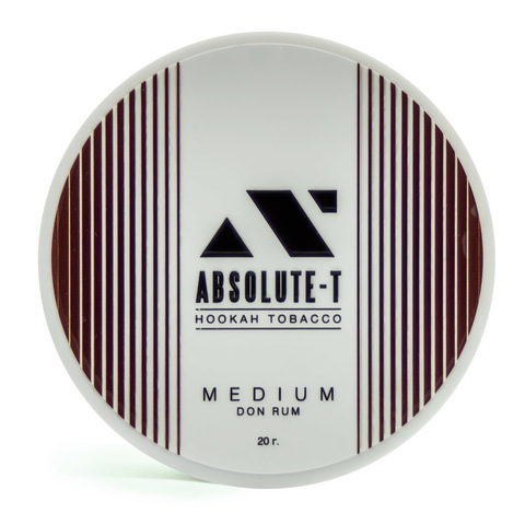 Табак Absolute-T Med 20 г Don Rum