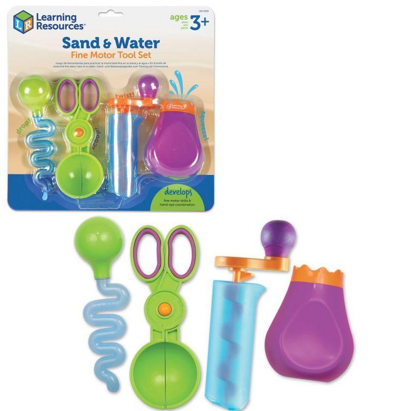 """LER5559 Щипчики """"Маленькие ручки. Вода и песок"""" (4 элемента)"""