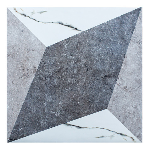 2114 Carrara Rombo Decor 60*60 Polished