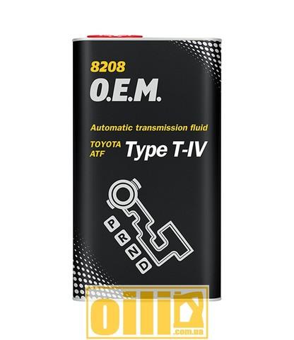 Mannol 8208 O.E.M. ATF TYPE T-IV 4л