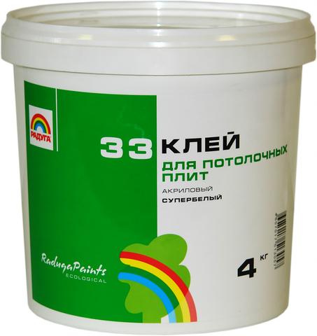 Клей Радуга 33 вд-ак 33 для пластика 4 кг.