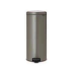 Мусорный бак newicon (30 л), Платиновый