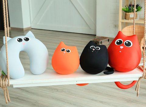 Подушка-игрушка антистресс Gekoko «Кот Искра» 4
