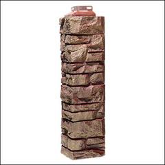 Наружный угол для фасадных панелей FineBer Скала Желто-коричневый