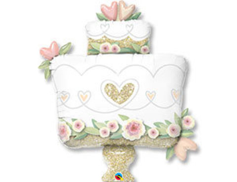 Фольгированный шар Торт свадебный