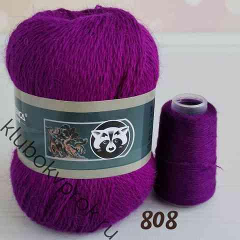ПУХ НОРКИ 808, Темный фиолетовый